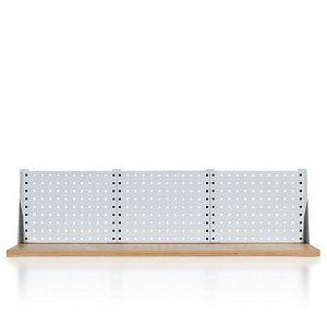Nadstawka 1-rzędowa z trzema panelami perforowanymiW-3N-1