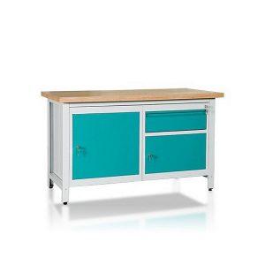 Stół 2-modułowy + szafka WSZ-A + szafka WSZ-BWS2-06
