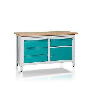 Stół 2-modułowy + szafka WSZ-B + szafka WSZ-CWS2-07