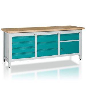 Stół 3-modułowy + szafka WSZ-D + szafka WSZ-C + szafka WSZ-BWS3-11 1