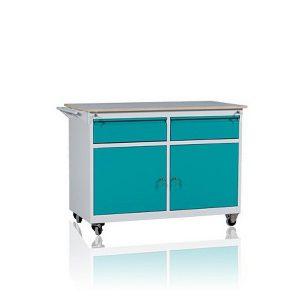 Wózek warsztatowy 2 szuflady + 2 szafkiWWD-C 1